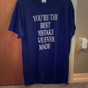 """Ariana Grande """"You're The Best Mistake-"""" T-shirt"""